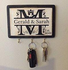 Personalized Key Holder - 7 Housewarming Gift Ideas That People Will Appreciate – Persoanlized key holder - BlackBoxGifting