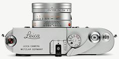 The Leica M-A is a new rangefinder film camera. It's a Leica MP but it doesn't have exposure metering, battery or any electronics at all. Leica M, Leica Camera, Rangefinder Camera, Film Camera, Camera Lens, New Digital Camera, Digital Slr, Photo Lens, System Camera