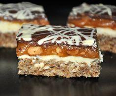 Prajitura Snickers Creme Caramel, Tiramisu, Bakery, Sweets, Ethnic Recipes, Desserts, Deserts, Tailgate Desserts, Creme Brulee