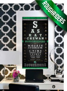 New Orleans Saints - 2009 Super Bowl Champs Eye Chart - Perfect Christmas and Birthday Gift - Unframed Prints