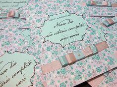 Line Paes Produções Gráficas | Convite Padrinhos de Casamento