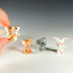 49 Best Miniature Animal Figurines images in 2016 | Ceramic