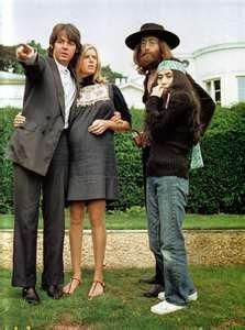 Paul and Linda and John and Yoko