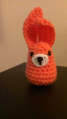 Conejito a crochet