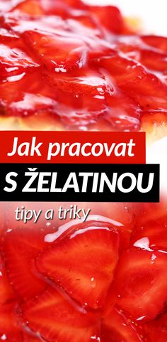 Jak pracovat s želatinou a zařadit ji do fit jídelníčku Scotch Whiskey, Irish Whiskey, Bourbon Drinks, Home Brewing Beer, Food Decoration, Something Sweet, Ale, Good Food, Food And Drink
