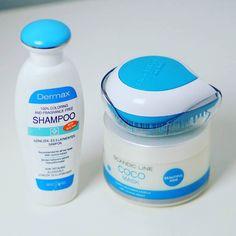 Mój zestaw wyjazdowy zgrany kolorystycznie - szampon bez Sles DERMAX kupiony na Węgrzech maska Scandic kokosowa (jej recenzję znajdziecie na WWWLOSY.PL) i mini szczotka Michel Mercier  wszystko poręczne i miniaturowe na wyjazd lub weekend poza domem się sprawdzą  #michelmercier #scandic #dermax #michelmercierbrush #szczotka #brush #shampoo #coconut #wwwlosypl #napieknewlosy #pielegnacjawlosow #kosmetyki #haircare #hairpassion #wlosy #włosy #wlosomaniaczki #wlosomania #wlosomaniaczka…