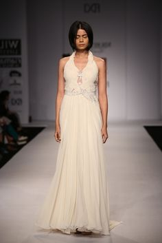 White gown by Nikhita  #fdci #wifw SS14