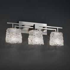 Justice Design Group Aero 3 Light Bath Vanity Light & Reviews | Wayfair