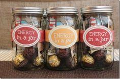 Mason Gift Jars - Great Teacher, Coach Gifts on Etsy, $15.00