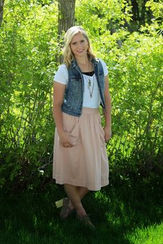 Style by Suzy: The Powder Pink Skirt