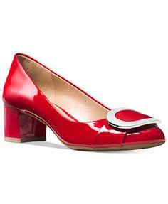 79984cc31e5 Michael Kors Pauline Mid Pumps   Reviews - Pumps - Shoes - Macy s