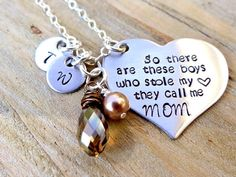 Mother's Necklace So There Are These Boys Who by BBeadazzled
