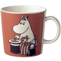 Children and adults alike fall in love with the sympathetic characters of Moomin Valley as created by the author Tove Jansson. The Arabia artist Tove Slotte-Elevant has designed the delightful Moomin objects in keeping with the original drawings. Moomin Mugs, Tove Jansson, Porcelain Ceramics, Mug Cup, Finland, Dinnerware, Tea Pots, Objects, Pottery