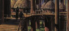 Ralph McQuarrie: Return of the Jedi 12 by Eric Carl, via Flickr