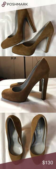 """✨ PRICE DROP ✨ FINAL PRICE - SERGIO ROSSI Tan/Brownish Suede Rossi Pumps. Box not included. Heel is approx. 5"""" Sergio Rossi Shoes Heels"""