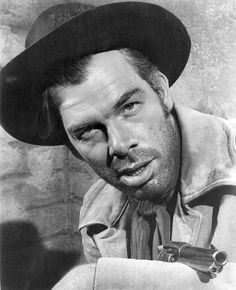SEVEN MEN FROM NOW - Randolph Scott - Gail Russell - Lee Marvin (pictured) - Written by Burt Kennedy - Produced by Batjac Productions - Directed by Bud Boetticher - Warner Bros. - Publicity Still. Old Hollywood Style, Classic Hollywood, In Hollywood, The Great Train Robbery, Randolph Scott, Lee Marvin, Raquel Welch, Western Movies, Interesting Faces