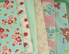 vintage grey:: pretty fabrics from Simply Sweet Fabric shop