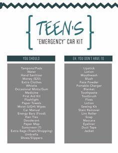 Teen Driver Car Kit - Cars Accessories - Ideas of Cars Accessories - Teen Driver Car KitEmergency car kit for teen drivers Maserati Ghibli, Aston Martin Vanquish, Bmw I8, Kit Cars, Car Kits, Audi R8 V10, Audi Tt, Travel Essentials For Women, Car Essentials