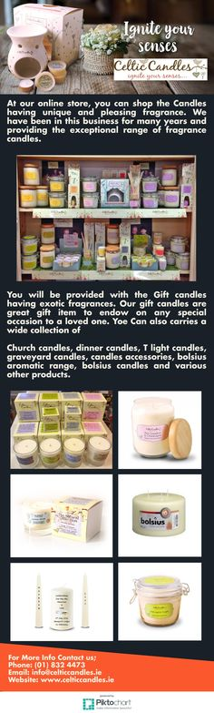 At our online store, you can shop the Candles having unique and pleasing fragrance. We have been in this business for many years and providing the exceptional range of fragrance candles.