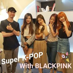 """""""superkpop_arirang: -  # K-Star & Live #  July 3th girl group is BLACKPINK This group can be everything with their lovely charm♡  Thx for a lot of participate in Our K-star live! -  BLACKPINK thank you for joining us..."""