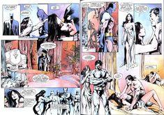 Batman: Narodziny Demona, czyli Ra's Ghul, jego córka i Detektyw w różnych konfiguracjach.