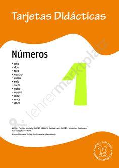 Bildkarten Spanisch: números