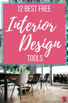 12 Best Free Interior Design Tools - Looking for some free resources to help you visualise and redesign your space? Check out my 12 favourite free & easy to use interior design tools that you can start using today. There are tools and software for floor plans, technical drawing, 3D room visualization and rendering, colour palates, furniture design, window dressing and more! (Houzz, IKEA, Planner 5d, Home By Me, Sketch Up, Colorjive etc)