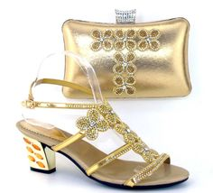 african women bags and shoes for wedding heels rhinestones good throughout gold shoes and bags for wedding