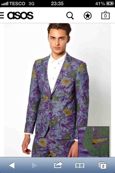 This is the most beautiful blazer I've ever seen but where in earth would I have an occasion to wear it? LOVE