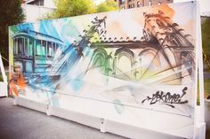 VESTIGES / ART DE RUE / NOTRE-DAME OUEST / MONTREAL 2014 Credits: Kelly Jacob #vestigesndo @Ashop #ashop #artderue #streetart #fantomesmontreal #montrealghosts #guidatour #vieuxmontreal #oldmontreal #ndo #notredameouest #zek