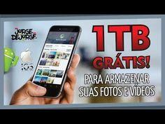 Adeus Cartão de Memória! 1TB GRÁTIS Android e iOS - YouTube