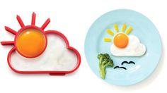 Stampino per uova a forma di sole