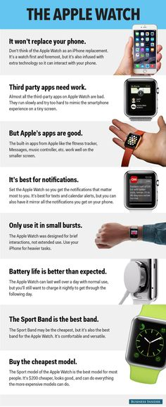 What I think of the Apple Watch after using it for one week — and what people are getting wrong about it Apple Watch Hacks, Apple Watch Series 3, Info Board, Apple Watch Iphone, Apple Apps, Apple Watch Accessories, Apple Inc, Watch Bands, Technology