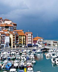 Port. Bermeo, Basque Country, Spain.