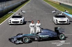 Mercedes W04 Launch-2013 F1 Cars