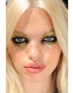 Glitter at DSquared SS12
