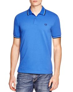 Fred Perry Tipped Slim Fit Polo