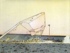 Drawings by Moebius (Jean Giraud)