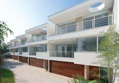 condomínio Giardino Pirandello, no Brooklin, zona sul de São Monica Drucker Arquitetos Associados