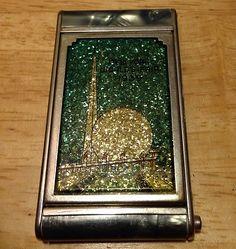 Vintage Girey Compact 1939 New York Worlds Fair Trylon and Perisphere | eBay