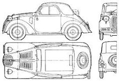 Porsche was still testing his Volkswagen prototypes, Italy already had a mass-production people's car . A pace only marginally quicker than a prof… Fiat 500, Diesel Punk, Lord, Disney S, Volkswagen, Porsche, Mickey Mouse, Automobile, Diagram