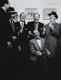 You won't recognize Arthur, Herbert, Milton, Leonard and Julius unless of course I call them Harpo, Zeppo, Gummo, Chico and Groucho.  There were five Marx Brothers and Mama is grateful for all of them.  Find your funny for your party at GigMama.com