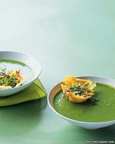 Martha Stewart's Spinach and Pea Soup