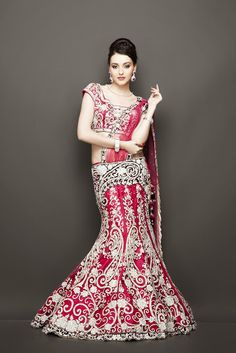 Fashion: Exclusive Handcrafted Bridal and Wedding Lehengas 2014