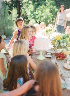 Garden tea party birthday | Art with Nature Design | 100 Layer Cakelet