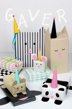DIY gift wrapping ideas for birthday gifts and mothers day/fathers day gifting. - How to Tutorials Diy Present Wrapping, Creative Gift Wrapping, Creative Gifts, Wrapping Papers, Wrapping Paper Ideas, Pet Gifts, Craft Gifts, Kids Presents, Diy Gifts For Kids