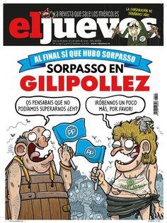 Votantes gilipollas y portada de 'El Jueves'