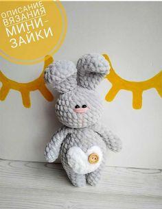 Easter Crochet, Crochet Bunny, Crochet For Kids, Crochet Patterns Amigurumi, Crochet Dolls, Amigurumi Toys, Bunny Paws, Crochet Animal Patterns, Cute Dolls