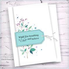 Пока дышу - люблю и верю. Фраза о любви для открытки.: На крыльях вдохновения