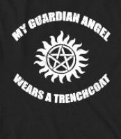 supernatural humor and items | Supernatural Castial Angel Trench Coat - A funny Supernatural t-shirt ...